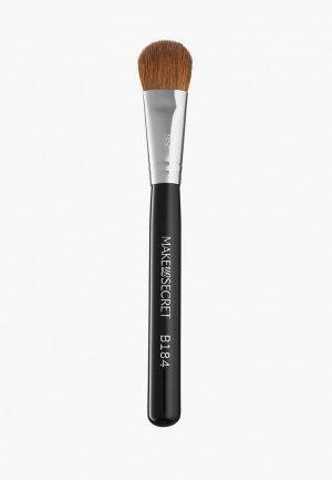 Кисть для лица Make-Up Secret B184. Цвет: черный