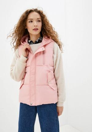 Жилет утепленный Fresh Cotton. Цвет: розовый