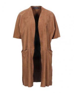 Легкое пальто STEWART. Цвет: верблюжий