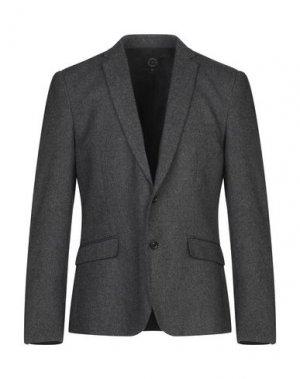 Пиджак SUIT. Цвет: свинцово-серый