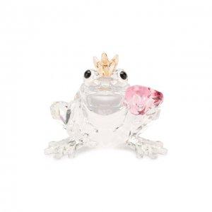 Скульптура Frog Prince Swarovski. Цвет: прозрачный