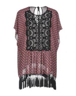 Блузка CLOVER CANYON. Цвет: кирпично-красный