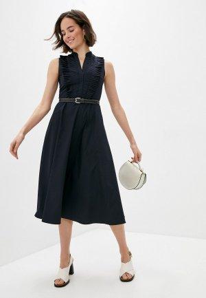 Платье Akris Punto. Цвет: синий