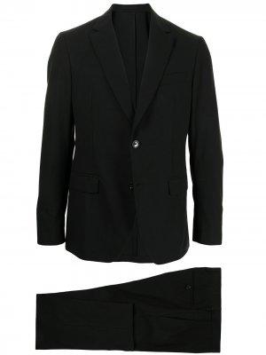 Костюм с однобортным пиджаком Salvatore Ferragamo. Цвет: черный