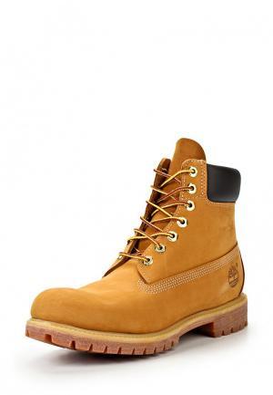 Ботинки Timberland Premium 6 in waterproof. Цвет: коричневый