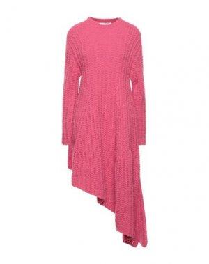 Короткое платье VALENTINO. Цвет: фуксия