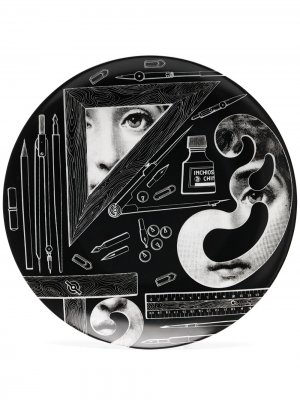 Настенный декор Tema e Variazioni No.391 Fornasetti. Цвет: черный