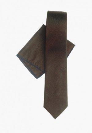 Комплект Quesste. Цвет: коричневый