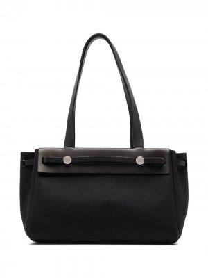 Сумка на плечо Her 2003-го года Hermès. Цвет: черный