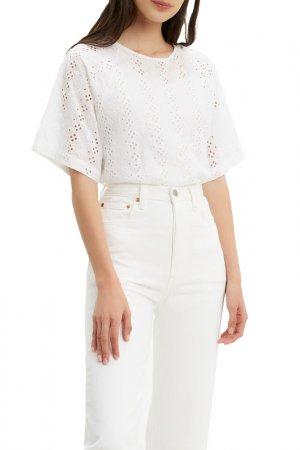 Рубашка MIA SS TEE Levis Levi's. Цвет: белый