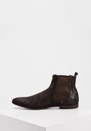 Ботинки Premiata. Цвет: коричневый
