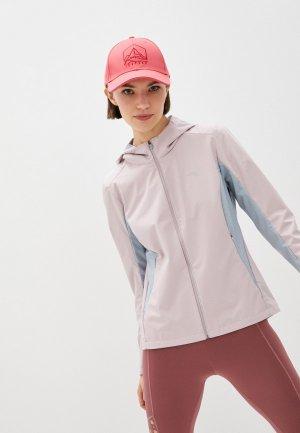 Ветровка Anta Running. Цвет: розовый