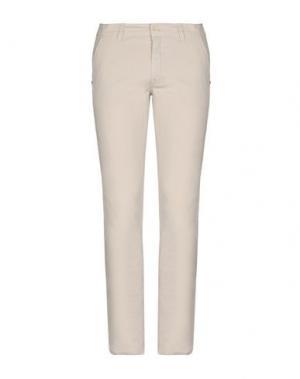 Повседневные брюки CANADIENS. Цвет: светло-серый