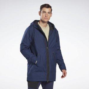 Парка Outerwear Urban Fleece Reebok. Цвет: vector navy