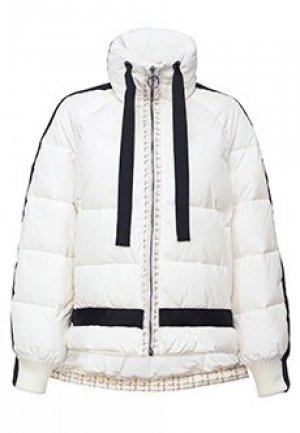 Куртка PINKO. Цвет: белый