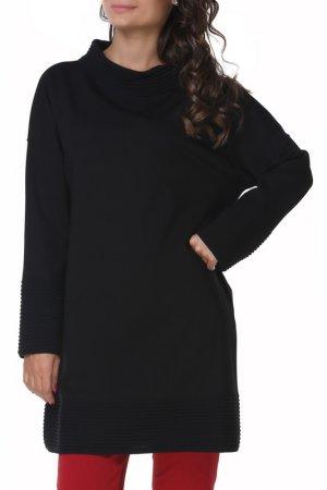 Пуловер SHES SO SHE'S. Цвет: черный