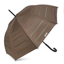 Зонт полуавтомат 666 темно-зеленый JEAN PAUL GAULTIER