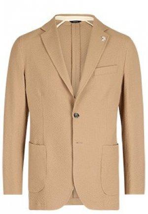 Пиджак TOMBOLINI. Цвет: бежевый
