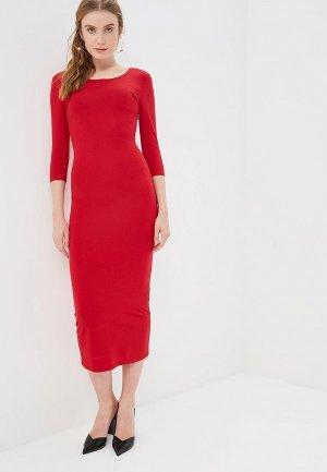 Платье GALOLBO. Цвет: красный