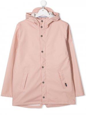 Непромокаемая куртка Elephant Man с капюшоном Gosoaky. Цвет: розовый