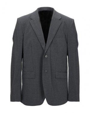 Пиджак HELMUT LANG. Цвет: свинцово-серый