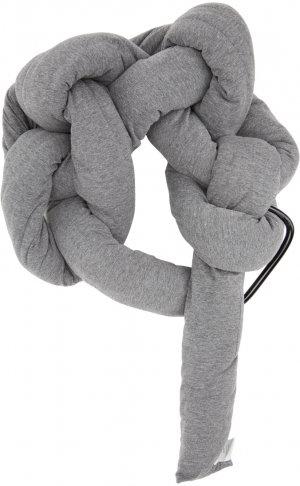 Grey & Beige Bolster Scarf Bless. Цвет: grey/beige