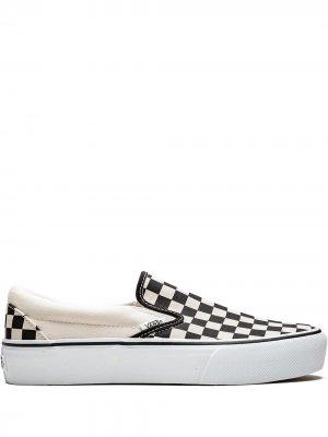 Слипоны Classic Slip-On Platform Vans. Цвет: черный
