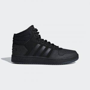 Баскетбольные кроссовки Hoops 2.0 Mid Performance adidas. Цвет: черный