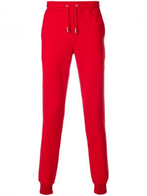 Классические брюки Eleventy. Цвет: красный