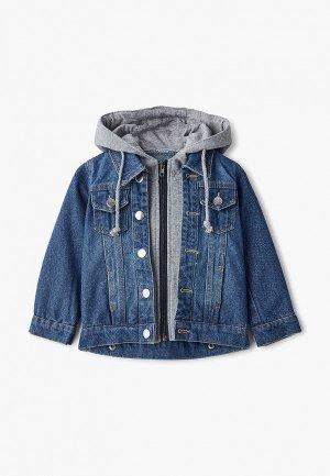 Куртка джинсовая Moon River. Цвет: синий