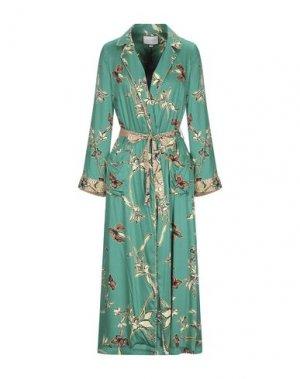 Платье миди ALEXIS. Цвет: изумрудно-зеленый