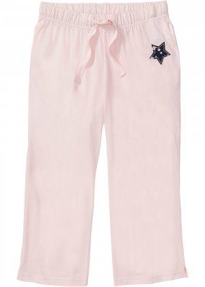 Брюки капри к пижаме bonprix. Цвет: розовый
