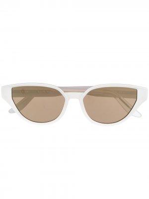 Солнцезащитные очки Sfitinzia C05 в оправе кошачий глаз Snob. Цвет: белый