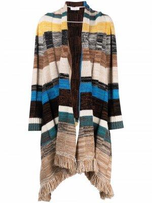 Полосатая шаль Blanket Attitude Dorothee Schumacher. Цвет: нейтральные цвета