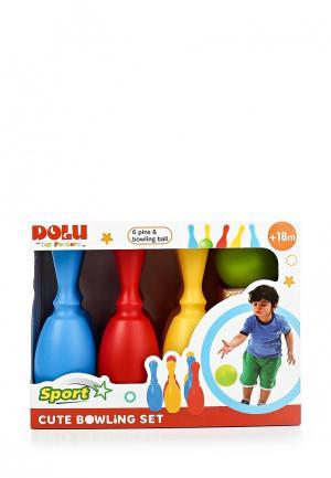 Набор игровой Dolu боулинг. Цвет: разноцветный