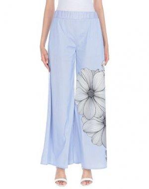 Повседневные брюки ATINSIGHT by ANDREA TURCHI. Цвет: синий