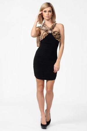 Платье Corleone Exclusive. Цвет: коричневый