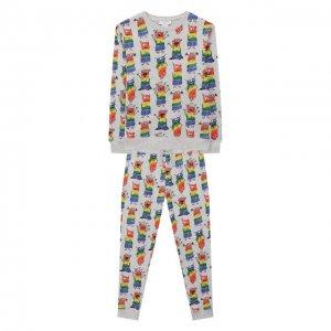 Комплект из свитшота и брюк Stella McCartney. Цвет: разноцветный