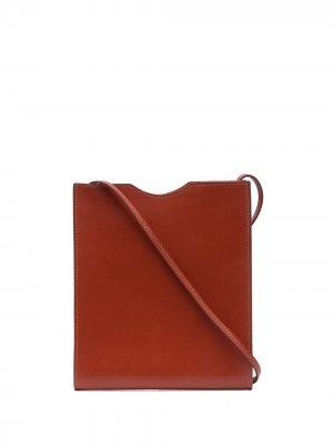 Сумка через плечо Onimaitou pre-owned Hermès. Цвет: коричневый
