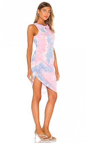 Платье eva Lovers + Friends. Цвет: розовый