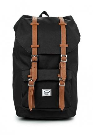 Рюкзак Herschel Supply Co LITTLE AMERICA. Цвет: черный