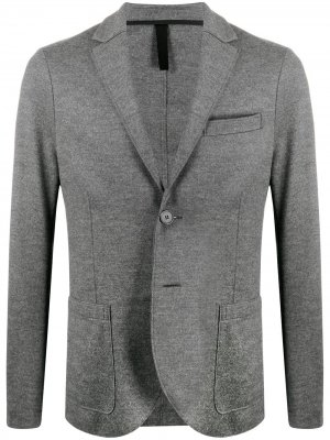 Пиджак из джерси Harris Wharf London. Цвет: серый
