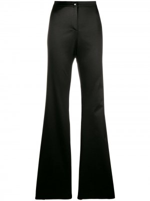 Расклешенные брюки Romeo Gigli Pre-Owned. Цвет: коричневый
