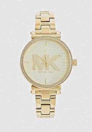 Часы Michael Kors MK4334. Цвет: золотой