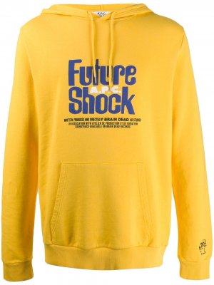 Худи Future Shock A.P.C.. Цвет: желтый