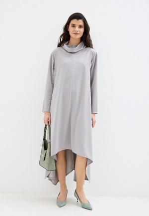 Платье Adzhedo. Цвет: серый