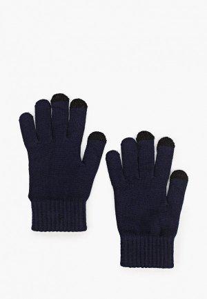 Перчатки Mango Man I TOUCH. Цвет: синий