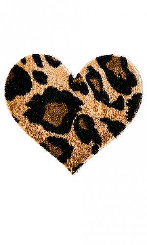 Накладки на соски domenico heart Bristols6. Цвет: коричневый