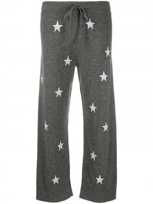 Трикотажные брюки с принтом Chinti and Parker. Цвет: серый