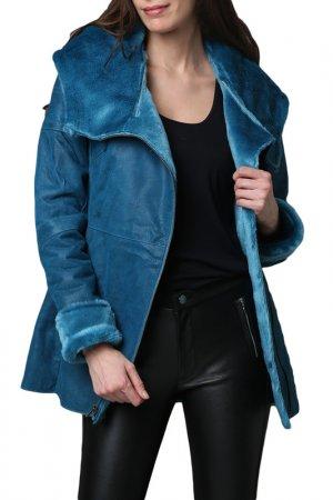 Coat Isaco & Kawa. Цвет: blue